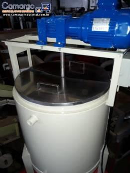 Tanque para derretimento chocolate 80 L