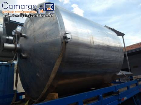 Tanque inox 316 10.000 L