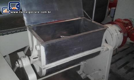 Misturador sigma em aço inox para 80 litros