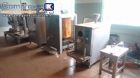 Linha para produção de sorvete de massa R.Camargo
