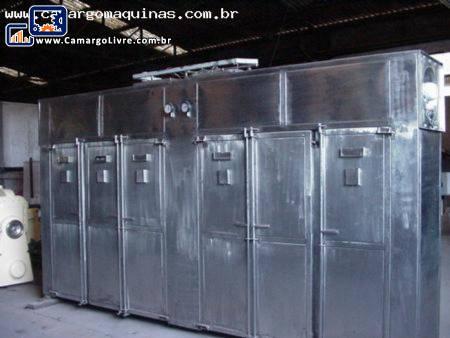 Estufa industrial para desidratação de frutas em inox