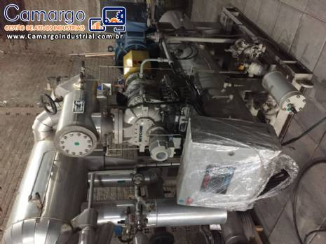 Chiller compressor parafuso Mycon
